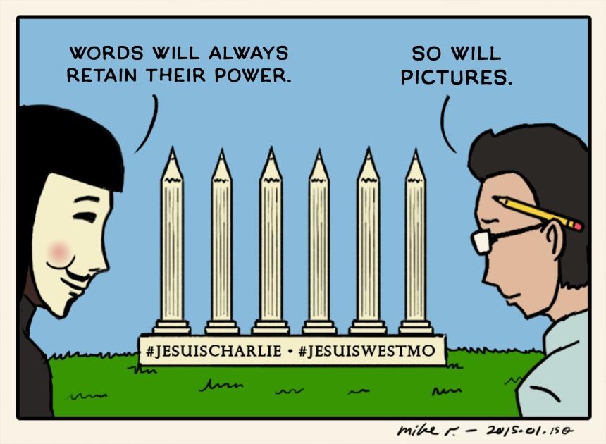 Charlie Hebdo by Mike Ramirez