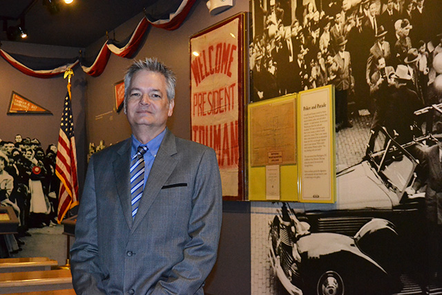 New director of the National Churchill Museum, Dr. Jim Williams. PHOTO BY WESTMINSTER COLLEGE NEWS