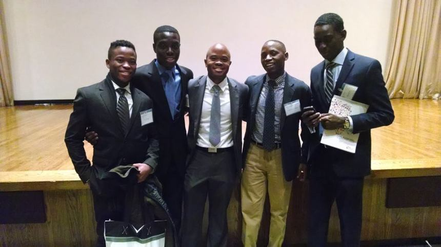 Xolo Msomi, Kwame Odame, Fred Swaniker (Founder of African Leadership Academy), Joseph Munyamabaza and Moussa Sall