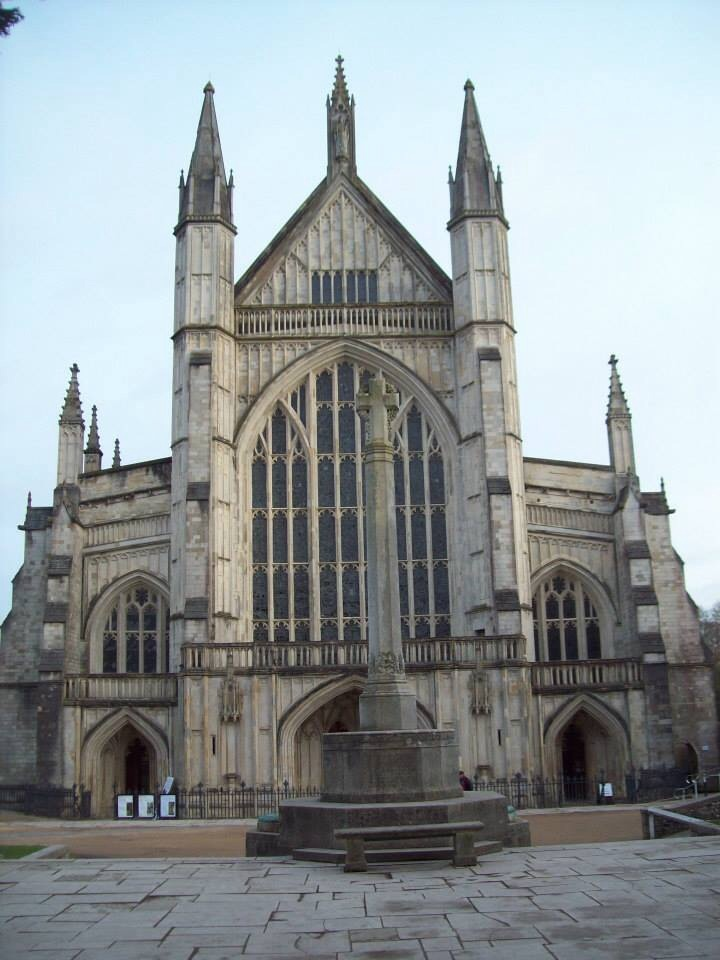 Winchester Cathedral. PHOTO BY VERONICA TUTHILL