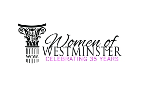 The Women of Westminster logo was revealed at the WOW Kick-Off event on Oct. 10.
