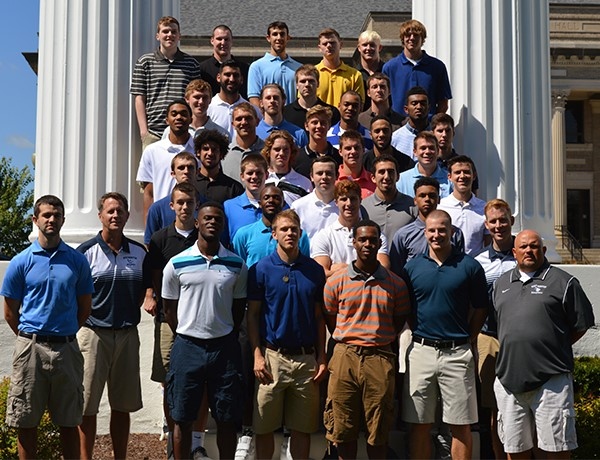 The 2015 Men's Basketball Team. PHOTO COURTESY OF WESTMINSTER ATHLETICS.