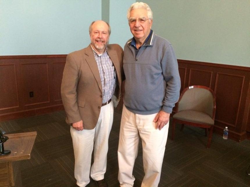 Dr. Bob Hansen and Dr. PHOTO BY JIM MALVEN.