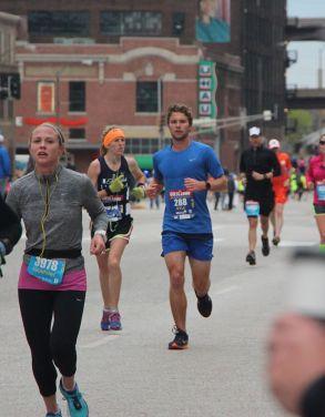 Kyle Running Towards